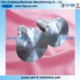 機械装置部品CNCの機械化の部品の予備品シャフト