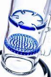 Favo al tubo di acqua di fumo di vetro del sidecar di Perc di ciclone (ES-GB-567)