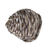Sombrero del invierno de la gorrita tejida de Camo del telar jacquar de la impresión