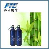 A garrafa de água 600ml ou 500ml de alumínio do costume para BPA livra o frasco dos esportes do alumínio