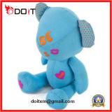Presente de Valentim Panda Azul Urso de peluche Pinting Teddy Bear