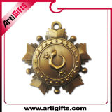 Retro ottone antico placcato del metallo medaglia
