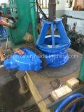 Tipo valvola a saracinesca della lama Pn10 della cialda