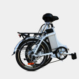 Bicicleta plegable de alta velocidad plegable de Electirc de la E-Bici de la aleación del Al de 20 pulgadas