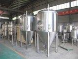 Hohe Leistungsfähigkeits-Industrie-Bier-Pflanzensystems-Reichweite von 2000L zu 5000L pro Stapel