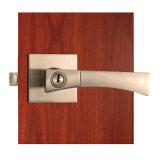 Трубчатый безопасный замок двери с ручками рукоятки в никеле сатинировки