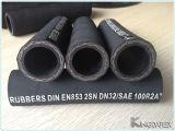 Hochdruckdraht-umsponnener hydraulischer Gummischlauch für Bergbau flexibles 2sn