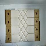 cuir mou d'unité centrale de Roolls de mur 3D de panneau de décoration de mur de panneau décoratif acoustique de panneau