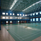 Revestimento plástico do Badminton do PVC da venda da fábrica de China