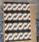 Bordi di pietra naturali del mosaico