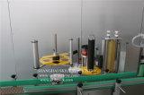 Rotulador de la máquina de etiquetado de la goma de la escritura de la etiqueta de la etiqueta engomada de la botella de cristal de la dimensión de una variable redonda