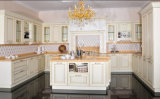 Keukenkast van de Stijl van Amerika de Stevige Houten (br-SA02e)