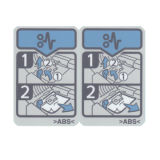 Etiqueta impressa cor Paper/PP/Pet revestido autoadesiva para o sinal da impressora: Etiqueta da impressora