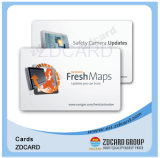 Tarjeta elegante de la ISO 7816 en blanco IC con la personalización