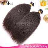 12-30 pollici di 100g/Lot Remy dei capelli della cheratina U di punta brasiliana del chiodo di estensioni diritte crespe dei capelli umani