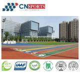 Pista corriente de la PU del silicio resistente de la alta calidad del buen funcionamiento del deporte