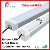 Qualität Aluminum und PC Edison 2835SMD LED Chip Emergency LED Tri-Proof Light
