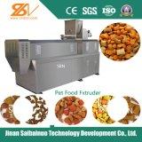 O alimento de cão automático faz à máquina a linha de produção da planta