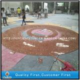 Mattonelle di marmo rosse Polished di Rosso Verona per il pavimento, pavimentazione, parete