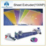 Extrudeuse de feuille simple horizontale en plastique de plaque (YXWP650)