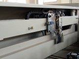 Le faisceau automatique en bois de machine de découpage a vu que l'ordinateur lambrisser a vu
