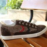 Вулканизированные ботинки холстины резиновый Outsole (SNC-02080)