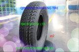 Neumático del pasajero, neumático de la polimerización en cadena, neumático radial del coche, neumático del coche, de la polimerización en cadena del camino,