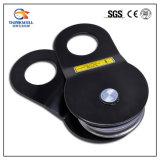 Schwarzer Farben-Hebevorrichtung-Handkurbel-Riemenscheiben-Zugreifen-Block für Drahtseil