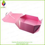 Cadre cosmétique de empaquetage de papier de cadeau pliable sensible