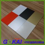 Панель хорошего качества PVDF 3mm черная алюминиевая составная оценивает строительные материалы