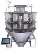 10 teste Double Door Multihead Weigher con Touch Screen