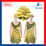 Uniforme do Netball do vestido do Netball do Sublimation de Healong