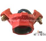 Тройник FM/UL/Ce утвержденный дуктильным продетый нитку утюгом механически для тавра бой пожара Systems-1nuo
