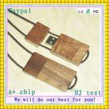 Movimentação de madeira da memória Flash do USB da alta qualidade da capacidade total
