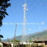 다리가 있는 커뮤니케이션 각 강철 탑이 황금 공급자에 의하여 4 직류 전기를 통했다