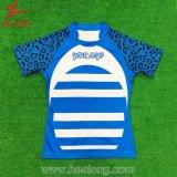 Healong Oberseite, die völlig Farben-Sublimation-Rugby-Hemd verkauft