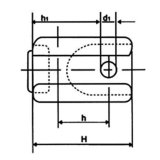 Aislador de alto voltaje del retén para las líneas (54-2)