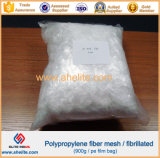 Ciment renforçant la fibre Fibrillated par maille du polypropylène pp