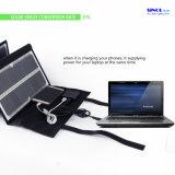 портативный складывая заряжатель панели солнечных батарей 80watt с флуоресцированием для компьтер-книжки, телефона, компьтер-книжек 18V и заряжателя батареи автомобиля 12V солнечного (FSC-80L)