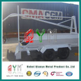 Security móvil Barrier Razor Wire y Trailer