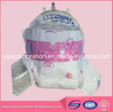 Pañales del bebé hechos en China Pañal de goma del bebé