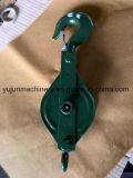 Раскройте тип одиночный блок Snatch шкива кабеля Sheave