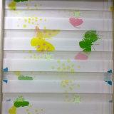 児童室のための日夜印刷ファブリック巻上げ式ブラインド