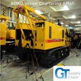 Embarcação profissional do Roro que freta o serviço de transporte de Qingdao Tianjin Shanghai
