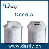 Высокие патроны фильтра мембраны стеклянного волокна подачи