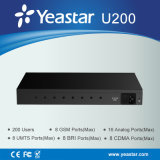 IP Phone User Supported All di Yeastar 200 nella linea di accesso al centralino privato di Un