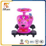 Passeio quente dos miúdos da venda no carro do balanço do brinquedo feito na fábrica Tianshun de China