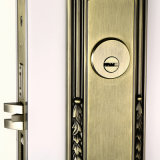 Одиночное Cylinder Mortise Entrance Handleset Lock в Zinc Alloy