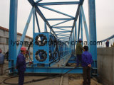 Transportador de correa químico del tubo de la manipulación de materiales/transportador de correa tubular