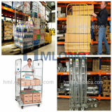 Stapelbarer Supermarkt-Lager-Speicher-Rollenrahmen